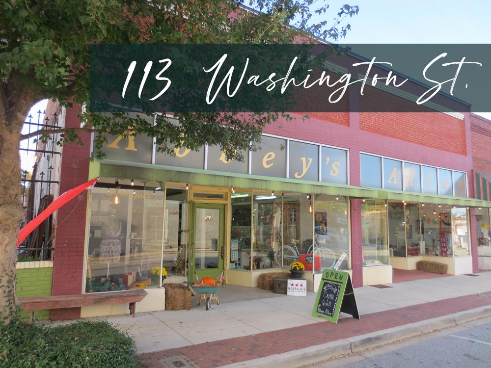 113 Washington Street - Abbeville, SC