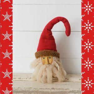 Primitive Style Santa Head